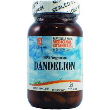 L A Naturals Dandelion Raw Herb 90 VGC