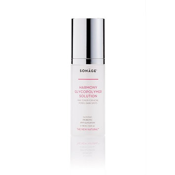 Sonage Harmony Glycopolymer Solution - Safe Natural AHA Exfoliant with Glycolic Acid, Beet Sugar - Professional Grade Chemical Face Peel for Acne Scars, Collagen Boost, Wrinkles, Fine Lines