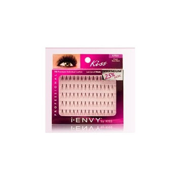 i.ENVY BY KISS EYE LASH/INDIVIDUAL (2 Packs)-COMBINATION #KPEO3