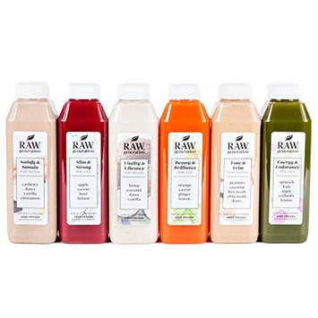 Raw Generation 7-Day Protein Cleanse™- Healthiest Way to Lose Weight & Stay Strong/Plant-Based Protein Smoothies & Juices