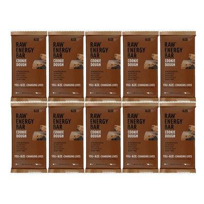 Kize Raw Energy Bar, Cookie Dough, 10 Count [Cookie Dough]