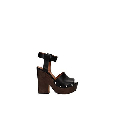 BE08749004001 Givenchy Sandals Women Leather Black [Black, 6 UK]