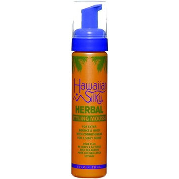 HAWAIIAN SILKY HERBAL STYLING MOUSSE BOUNCE & HOLD 8 OZ