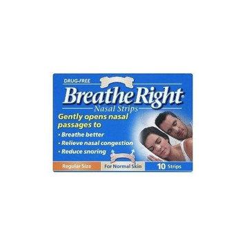 Breathe Right Nasal Strips Natural Regular 10