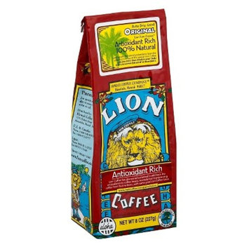 Lion Coffee Original Antioxidant Rich Medium Roast Ground Coffee - 8oz