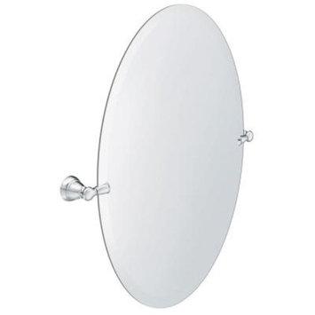 MOEN Banbury 23 in. x 26 in. Frameless Pivoting Single Wall Mirror in Chrome