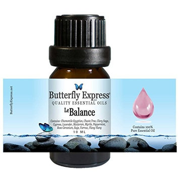 Le Balance Essential Oil Blend 10ml - 100% Pure - by Butterfly Express