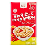 Apples & Cinnamon Instant Oatmeal - 10ct - Market Pantry™