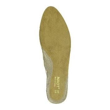 Naot Women's Prima Bella Footbed,Gold,41 M EU / 10 B(M) US