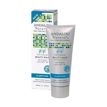 Andalou Oil Control Beauty Balm Un-Tinted SPF 30 58ml