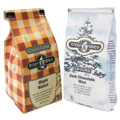 Steep & Brew Seasonal Flavors Ground Coffee, 9 oz