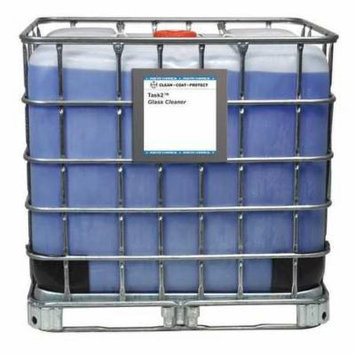 Glass Cleaner,Light Blue,Tote,270 gal.