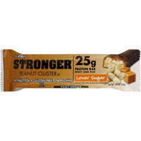 NuGo Nutrition Stronger Peanut Cluster, 2.82 OZ (Pack of 12)