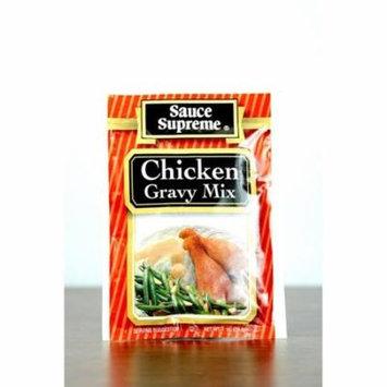 Spice Supreme Pack of 24 Sauce Supreme Chicken Gravy Seasoning Mix 1 oz. 30004