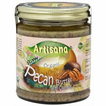 Artisana Pecan Butter Raw, 8 OZ (Pack of 6)
