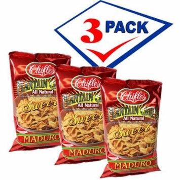 Sweet Plantain Chips. Mariquitas De Platanos Maduros. 5 oz each . Pack of 3