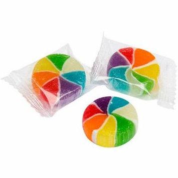 Yumjunkie Rainbow Vortex Cherry Hard Candy Wheels, 5 lb