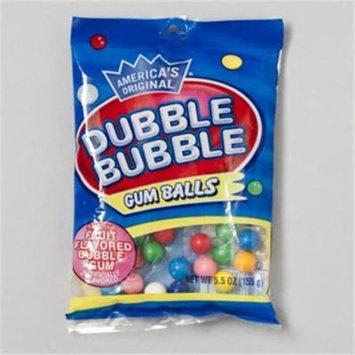 RGP 13345 Dubble Bubble Gum Balls Assorted 5 Oz Bag Pack Of 12