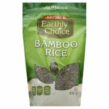 Nature's Earthy Choice Bamboo Rice, 12 OZ (Pack of 6)