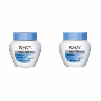 2 Pack Ponds Cream Dry Skin 3.9 oz Facial Moisturizer