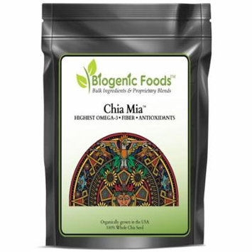 Chia Mia (TM) - Whole Chia Seed - US Grown - Highest Omega 3 Super Food ING: Organic Seed, 12 oz