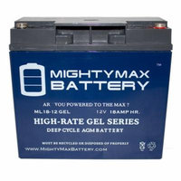 12V 18AH GEL Replacement Battery for Odyssey PC680