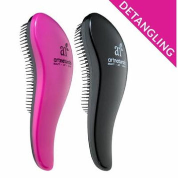 Detangling Brush (2pc) Flexible Bristles Combs Through Wet/Dry Hair Adds Shine