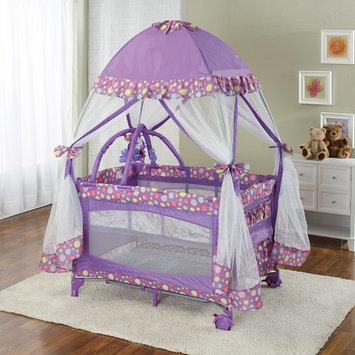 Playard with Moquito Net Purple