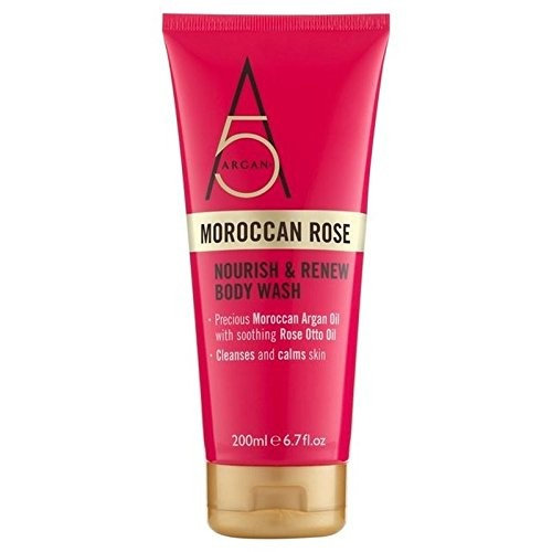 Argan+ Moroccan Rose Body Wash 200ml