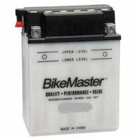 BikeMaster Standard Battery 75 Cranking Amps 137L X 76W X 143H mm Fits 85-00 Yamaha Badger 80 YFM80