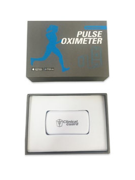 Clinicalguard CG Smart Pulse Oximeter for iPhone, iPad, Android