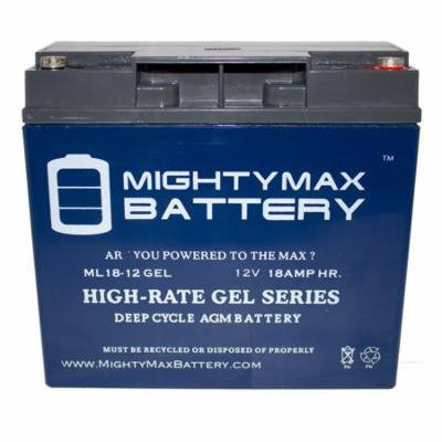 12V 18AH GEL Replacement Battery for A.P.C SU1400XLTNET