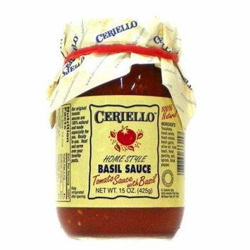 Ceriello Homestyle Tomato & Basil Sauce - 15 oz