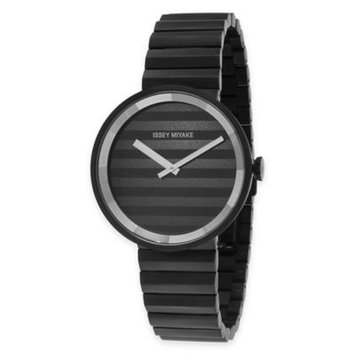 Men's Issey Miyake 'Please' Bracelet Watch, 40mm - Black
