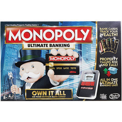 Hasbro Gaming Monopoly Game: Ultimate Banking Edition