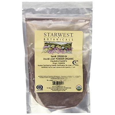 Starwest Botanicals Organic Dulse Leaf Powder - 4 oz