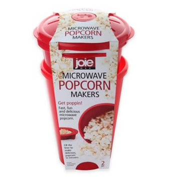 4-Cup Microwave Popcorn Maker (Set of 2)