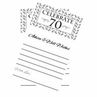 Celebrate 70! Advice Cards -40pk