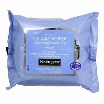5 Pack - Neutrogena Makeup Remover Cleansing Towelettes, 25 Count Each