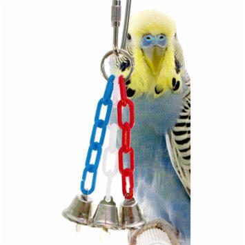 Bonka Bird Toys 1532 Tiny 3 Bell Bird Toy.