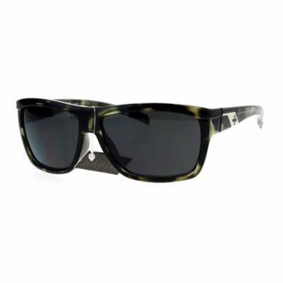 Kaotic Mens Sporty Warp Gangster Sunglasses Grey Tortoise
