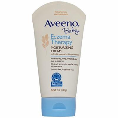 3 Pack - Aveeno Baby Eczema Therapy Moisturizing Cream, 5oz Each