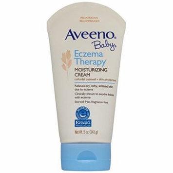 3 Pack - Aveeno Baby Eczema Therapy Moisturizing Cream, 5oz Each