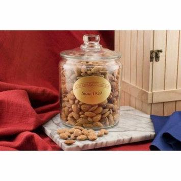 Salted Jumbo California Almonds (6 Pound Glass Jar)