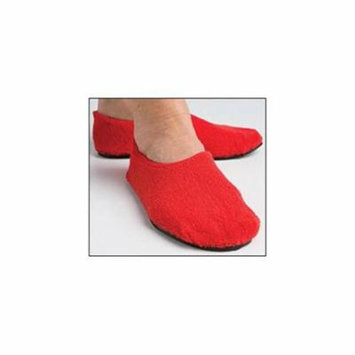 Secure SLPR-1RXL Fall Management Non-Slip Slippers, Red - Extra Large