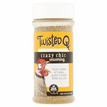 Twisted Q BBQ Spot Crazy Chic Seasoning, 6 oz