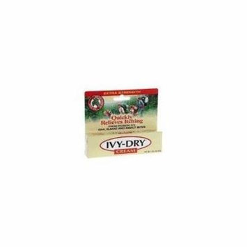 5 Pack - IVY-DRY Cream for Itch Relief 1oz Each