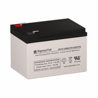 Drive Medical Mini Phantom Replacement Lawn Mower Battery (Set of 2 - 12V 12AH SLA Batteries)