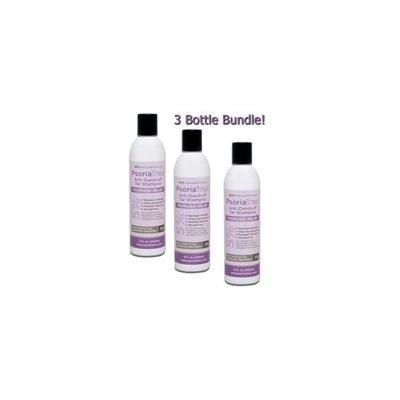Psoriatrax Coal Tar Shampoo 12oz 5% Coal Tar (3 Bottle Bundle)