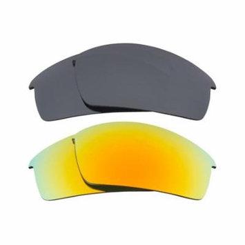 Best SEEK Replacement Lenses for Oakley BOTTLECAP Silver Mirror Yellow